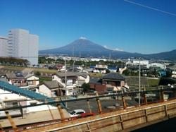 Fujisan at 300km/h.
