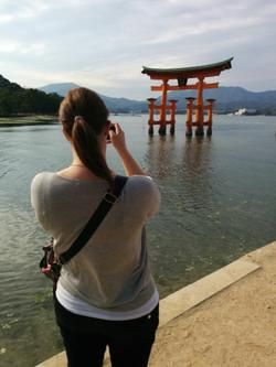 Met up with Louisa and went to Miyajima.