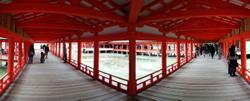 Itsukushima shrine again.