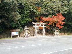 A random country side shrine.