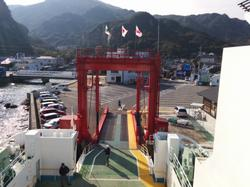 Last ferry of this trip, bound for Himeji.