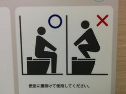 Instructions, in case this is your first time taking a dump.